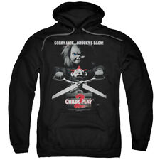 Childs Play Movie 2 Chucky Sorry Jack Licensed Adult Pullover Hoodie