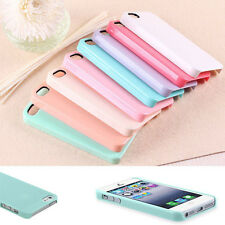 New Quality Pastel TPU Candy Color Hard Case Cover Skin For Apple Iphone 5 5s 5G