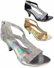 Women Evening Dress Shoes Rhinestones High Heels Platform Wedding Pumps Prem-9