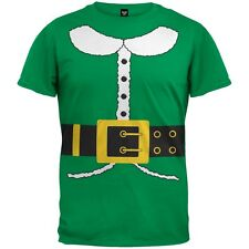 Boys Holiday Elf Costume Youth T-Shirt