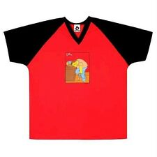 Simpsons - Mens Barney Soccer Jersey - Red