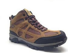 OZARK TRAIL MENS MID HIKER HIKING BOOTS SHOES BROWN LEATHER WATERPROOF INSULATED
