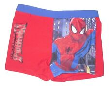 Boys swim trunks shorts official spiderman 1-10 years old