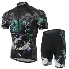 Hot New Outdoor Men's Cycling Jersey And Shorts Bike Bicycle Sportwear Clothing