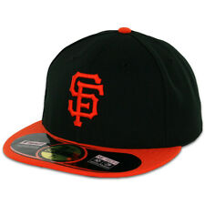 San Francisco SF GIANTS ALTERNATE New Era 59FIFTY Fitted Caps MLB On Field Hats