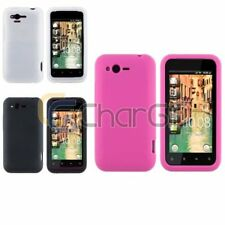 Matting Silicone Soft Rubber Gel Case Skin Cover For HTC Rhyme / Bliss