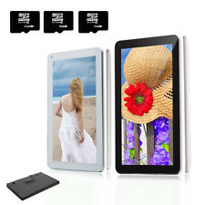 """iRulu 10.1"""" Android 4.4 Bluetooth Quad Core Dual Cam GPS Tablet PC w/ Free Case"""