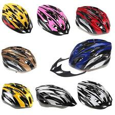 New 18 Vents Bicycle Bike Cycling Adult Men Women Bike Helmet Carbon With Visor