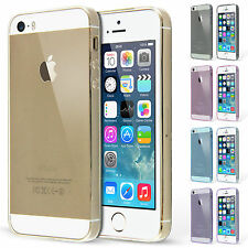 0.3 mm Ultra Thin Transparent Silicone Case and Screen Protector for iPhone 5S