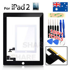 OZ Digitizer Front Glass Touch Lens for Apple iPad 2 Screen Replacement