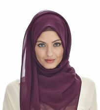 Plain Maxi Scarf Hijab Shawl {Many Colours Available}