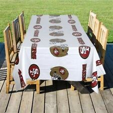 NFL Plastic Table Covers 54in x108in Banquet table