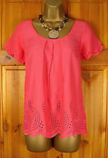 NEW MONSOON BLACK RED GREY BROWN FLORAL SUMMER BLOUSE SHIRT TOP UK SIZE 8 - 18