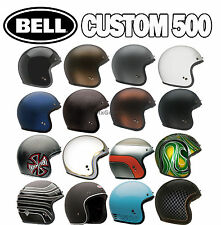(Ships within 1 day) Bell Custom 500 Motorcycle Open Face Helmet Discounted 2day