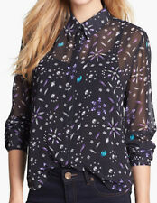 """PRETTY! New Tags Vince Camuto """"Kings Road"""" jewel print blouse plus $89"""
