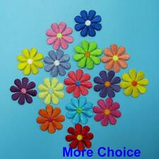 Floral Flower Iron Sew on Embroidered Patch Badge Transfer Clothing Biker Plant