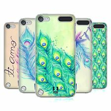 HEAD CASE DESIGNS PEACOCK FEATHERS CASE FOR APPLE iPOD TOUCH 5G 5TH GEN