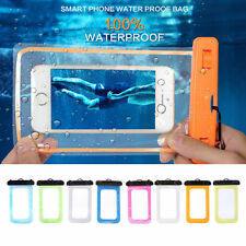 Waterproof Underwater Pouch Bag Pack Case Cover For Cell Phone up to 5.5 inches