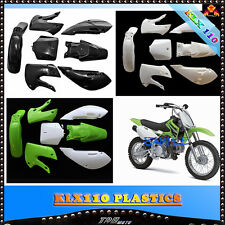 KLX110 PLASTICS/FAIRING KIT for ATOMIK PITPRO 125/140/150/160/200 cc DIRT BIKE
