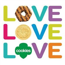 2015 GIRL SCOUT TRIOS COOKIES - HAVE IN STOCK / READY TO SHIP!