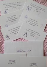 What am I Cards. Hen Night Party Games. Accessories and Novelties, Drinking Game
