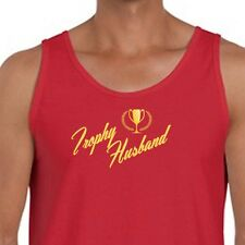 Trophy Husband Funny Fathers Day T-shirt Love Humor Hubby Gift Men's Tank Top