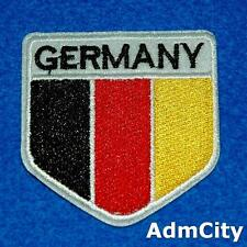 Germany Flag Iron on Patch Applique Sew Badge Embroidered Country Sports Europe