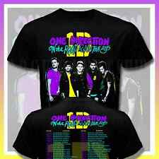 New ONE DIRECTION 1 D ON THE ROAD AGAIN TOUR DATES 2015  Tee T Shirt S# S-2XL
