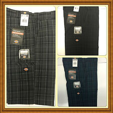 """Dickies WR978 Regular Fit Multi-Use Pocket 13"""" Casual Plaid Short Sizes 30-48"""