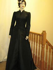 VICTORIAN / EDWARDIAN / STEAMPUNK OUTFIT (All BLACK)