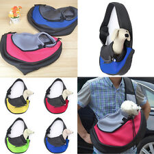Pet Dog Cat Puppy Carrier Single Shoulder Bag Mesh Travel Sling Backpack M/L