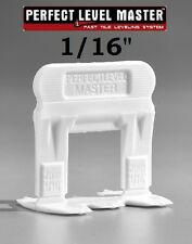 """1/16"""" PERFECT LEVEL MASTER™   T-Lock ™  Tile leveling system wall floor spacers"""