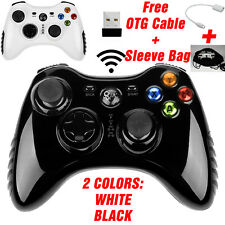 USB Wireless Gamepad Controller f PS2 PS3 Xbox 360 Microsoft PC Game Windows 7 8