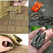 EDC Webbing Molle clip strap buckle load carriage bushcraft survival gear tool