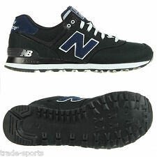NEW BALANCE ML574 BLACK MENS TRAINERS SHOES UK SIZE 7 8 9 10 11 RUNNING FASHION