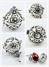 20MM Silver Plated Angel Caller Locket Harmony Ball Pendant Chime Mexican Bola