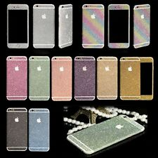 """Diamond Glitter Bling full Body Decals/Sticker/protector case for iPhone 6 4.7"""""""