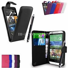 FLIP WALLET CASE POUCH PU LEATHER COVER FOR HTC DESIRE 620 620G MOBILE PHONE