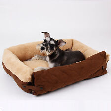 Pet Dog Bed Soft Warm Cushion 3 Way Use Dog Bed S L Size Puppy Cat Sofa Bed