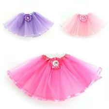 Baby Kids Girls Tulle Tutu Skirt Princess Dressup Party Costume Ballet Dancewear