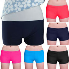 NEW Women's Boyshort Swimsuit Bottom Bikini Boy Short Tummy control
