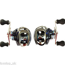12+1 BB 6.3:1 Right/Left Hand Baitcasting Fishing Reel Bait Casting Baitcast