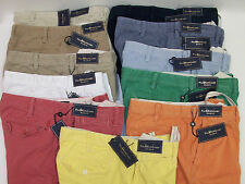NWT POLO RALPH LAUREN FLAT FRONT BLEECKER RUGGED EXPLORER TWILL SHORTS $75 - $85