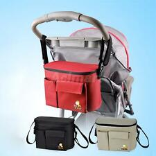Baby Diaper Nappy Changing Bag Mum Handbag Baby Carriage Stroller Bag Organizer