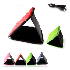 """New High Quality 9.7"""" Leather Case Cover Bag Speaker Sounder For 9.7"""" Tablet PC"""