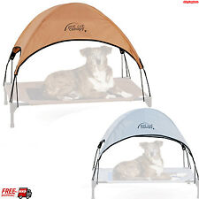 "Large Pet Bed Cot Canopy Shelter Sleep Dog Cat Sun Free Shade Stay Cool 30"" x42"""