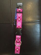 """Lupine 1"""" width collar in 2 sizes, many patterns NWT CHARITY"""