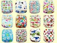 New Baby Infant Adjustable Reusable Leakproof Printed Cloth Nappy Diaper Covers