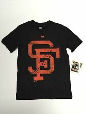 San Francisco Giants MLB official Majestic Youth T-Shirt New With Tags