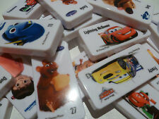 WOOLWORTHS DOMINOES DISNEY PIXAR STARS - SELECT THE ONES YOU WANT!